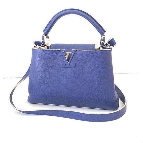 bedste tilbud på ny ankomst spar op til 80% Louis Vuitton Capucines BB bag